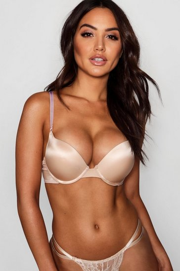 Nude Super Push Up Bra