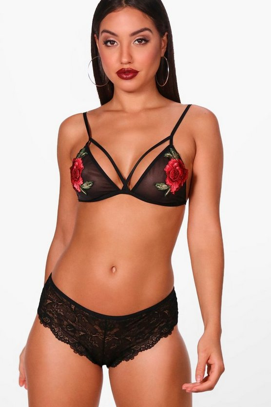 Keira Embroidered Bralet
