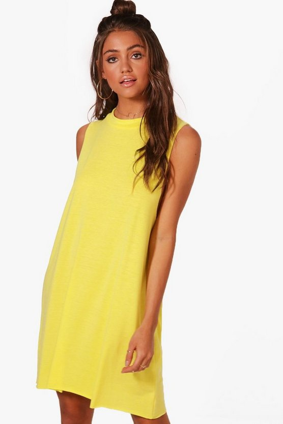 Lucia High Neck Lounge Dress
