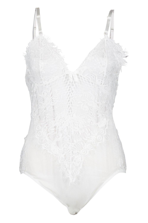 Mesh Lace Mesh Bodysuit amp; Lace white amp; Bodysuit SX7q1S