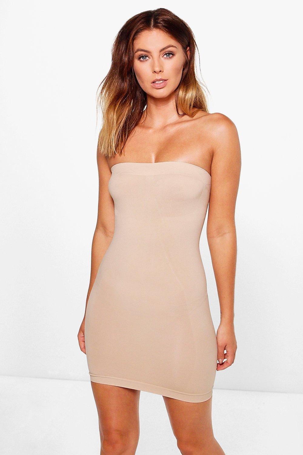 10b6f912f99a Womens Nude Jasmine Shapewear Slip Dress. Hover to zoom