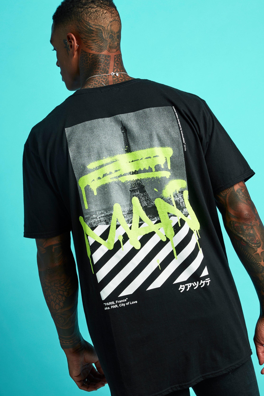 t-shirt with paris print
