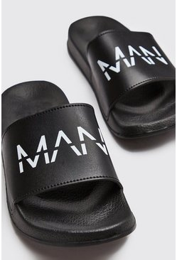 Chanclas MAN, Negro