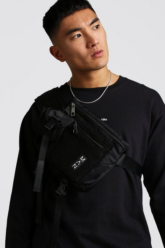 Black Borg Pocket Cross Body Chest Rig