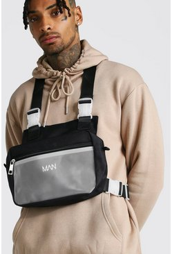 Herr Black Frosted Pocket Chest Rig
