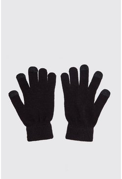 Herr Black Smartphone Touch Screen Gloves