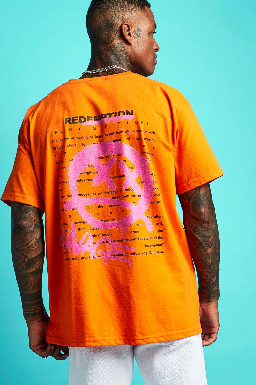 t shirt orange dos