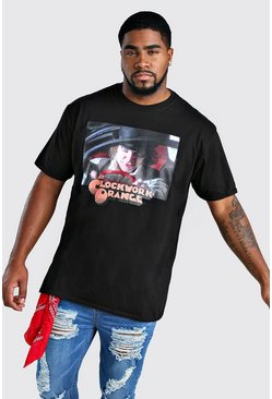 Herr Black Oversized Clockwork Orange License T-Shirt
