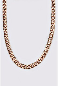 Mens Gold Curb Chain