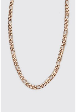 Mens Bronze Figaro Chain