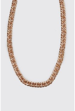 Mens Gold Double Link Chain