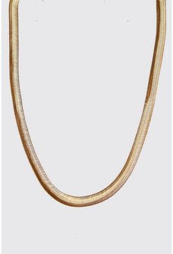Mens Gold Snake Chain