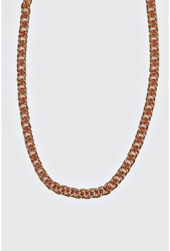 Bronze Double Link Cuban Chain