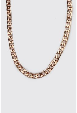 Mens Gold Large Cuban Chain