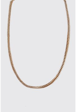 Mens Bronze Wheat Chain