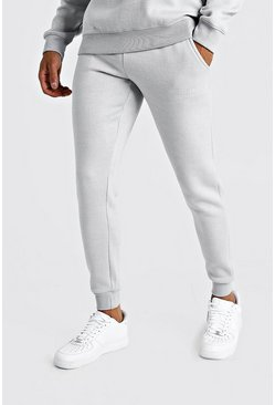 Light grey MAN X Abode Skinny Fit Jogger