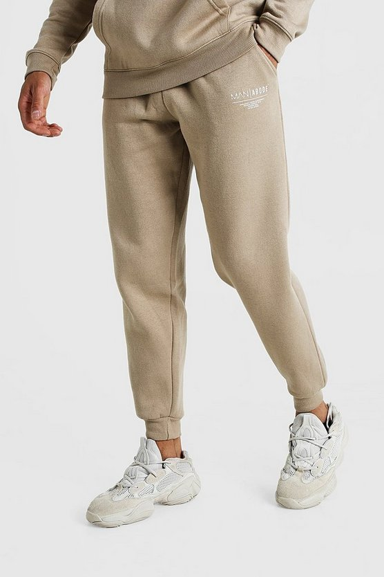 Taupe MAN X Abode Loose Fit Jogger