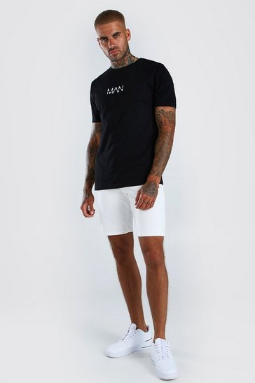 Mens Black Original MAN T-Shirt