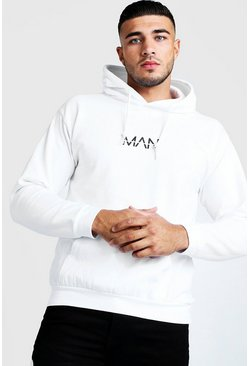 Herr White Original Man Over The Head Hoodie