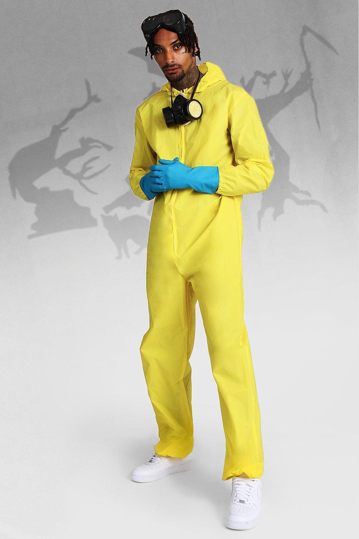 Фото #1: Хеллоуин: Платье с принтом «опасные вещества»