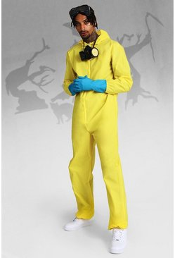 Herr Yellow Halloween Hazmat Fancy Dress