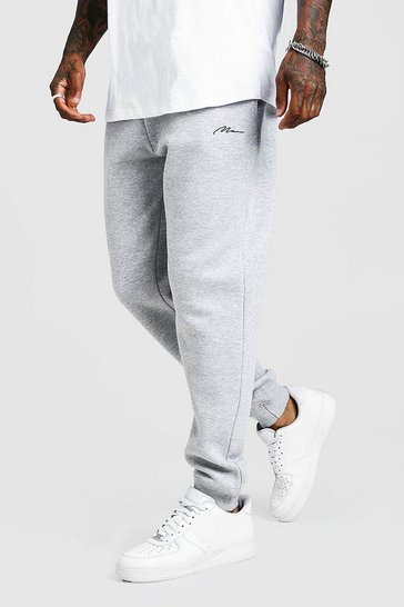 Grey MAN Signature Loose Fit Jogger