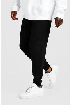 Black Man Signature Joggers med ledig passform