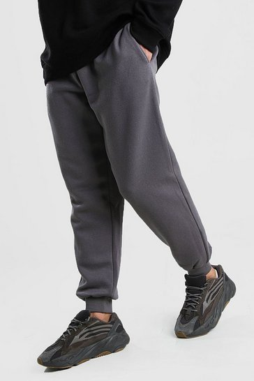 Charcoal Basic Loose Fit Jogger