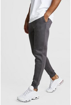 Charcoal Basic Skinny Fit Jogger