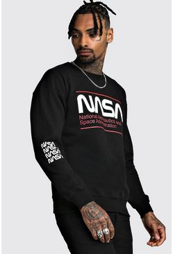 Sweat NASA officiel, Noir
