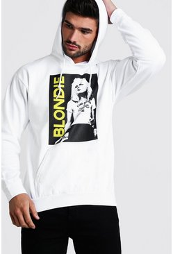 Herr White Blondie License Hoodie
