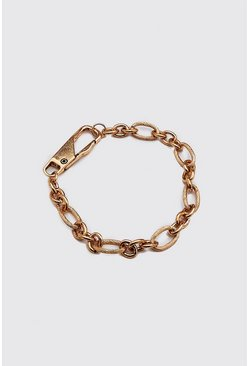 Gold Wheat Chain Bracelet