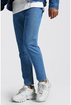 Light blue Slim Rigid Jeans