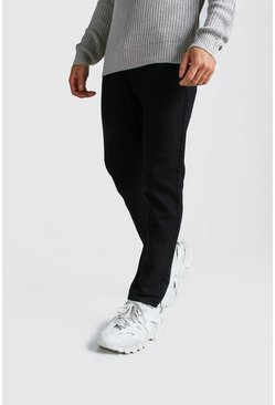 Slim Rigid Jeans, Black, HOMMES