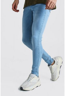Spray On Skinny Jeans, Light blue