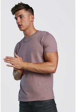 Mens Bark Rolled Sleeve T-Shirt