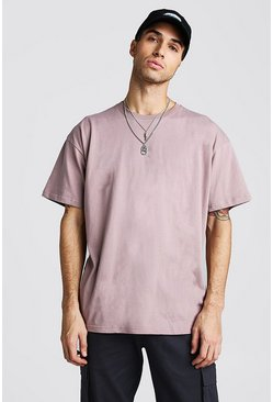 Mens Bark Oversized T-Shirt