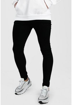 Black Spray On Skinny Jean