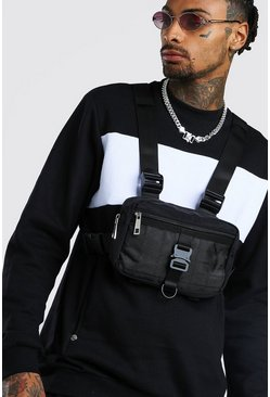 Herr Black Utility Buckle Chest Rig