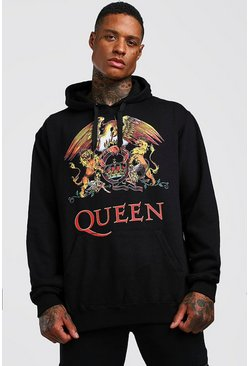 Herr Black Queen License Hoodie