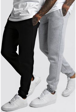 2 Pack Slim Fit Jogger, Multi