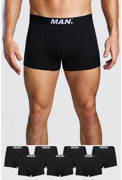 7 Pack MAN Dot Trunk, Black