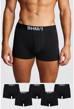 Black 5 Pack BHM Trunk