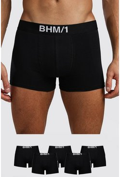 Herr Black 5 Pack BHM Mixed Trunk