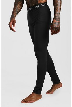 MAN Dash Meggings, Black