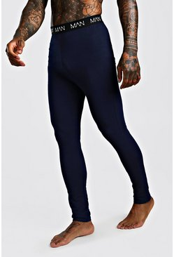 MAN Dash Meggings, Navy