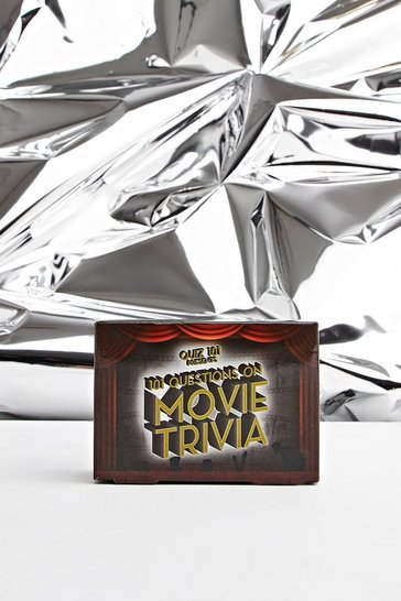 Mens Multi Quiz 101 - Movie Trivia