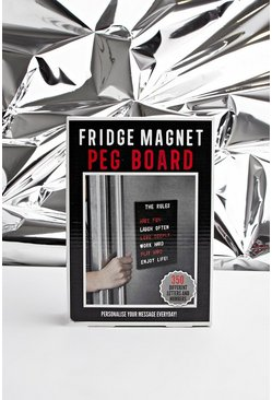 A5 Magnet Pegboard, Black