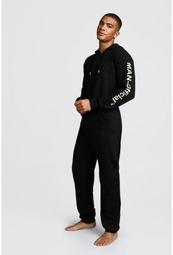 MAN Official Onesie, Black