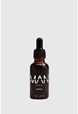 Mens Black MAN Beard Oil